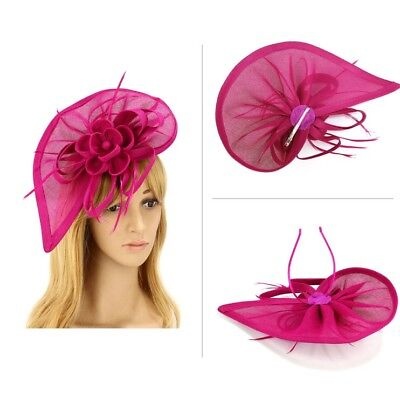 pink fascinator comes with Alice band and clip.Feathery Fantabulousness: Feathe