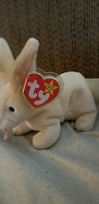TY Beanie babies Nibbler- rare with errors