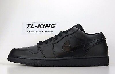 8bf20815be8 NIKE AIR JORDAN 1 Retro Low Black 553558 017 Msrp $100 Ek - $79.98 ...