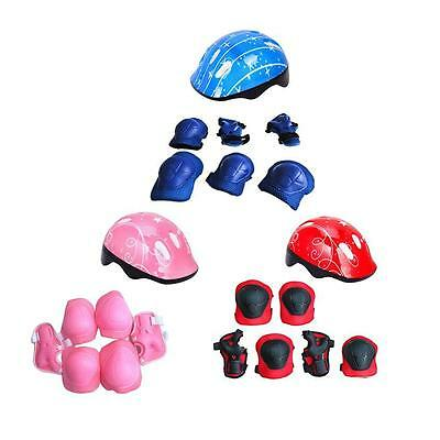 Elbow Knee Wrist Protective Guard Safety Gear Pads Skate Bicycle Kids and Teens!