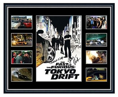 The Fast And The Furious Tokyo Drift Signed Limited Edition Framed Memorabilia