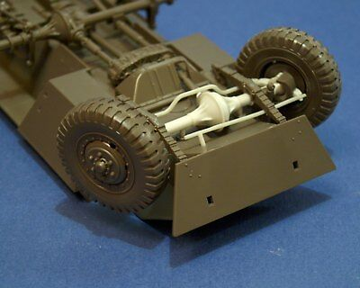 """Resicast 1/35 """"Workable"""" Front Axle & Steering for Tamiya M8 /M20 kit"""