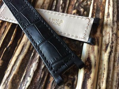 Watch Strap Band For Pasha 20/18Mm Swiss Made Bracelet Deployment Clasp Itws