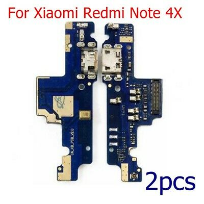 For Xiaomi Redmi Note 4/4X USB Charging Port Dock Connector Board Mic Flex Cable
