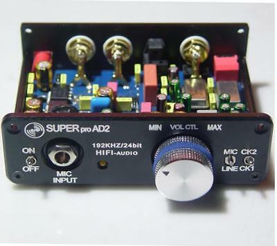 Stereo Audio ADC 192KHz-24bit Analog to Digital/Optical/Coaxial/SPIDF Converter