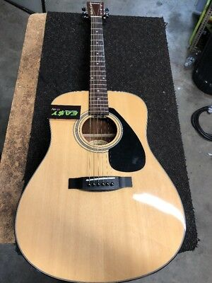 Yamaha F325D Acoustic Guitar Natural
