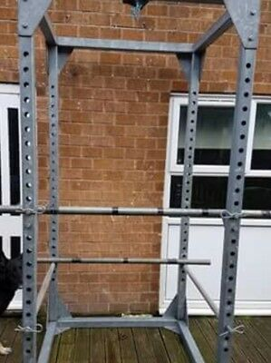 Power Rack - Commercial one of a kind 8ft 2