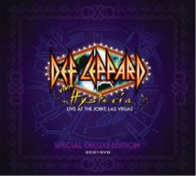 Def Leppard-Viva! Hysteria  (UK IMPORT)  CD with DVD NEW
