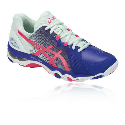 Asics Womens Gel-Netburner Super 8 Netball Shoes Blue Sports Breathable