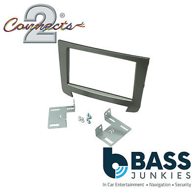 CT23SY10 SsangYong Rexton 2013 Onwards Car Stereo Double Din Fascia Panel Plate