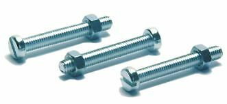 Quality Maypole 7/13 Pin Socket Mount Bolts & Nuts, Pack of 3, M5 x 35mm (246)