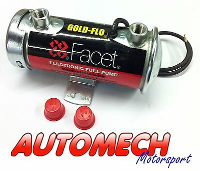 Facet Silver Top Pump, Fast Road/Competition use, up to 200bhp Carb Only (505)