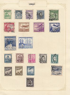 CHILE  Selection  Stamps Good Selection MINT/ USED