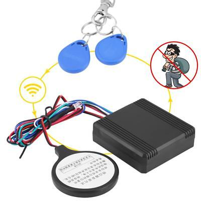 Waterproof 12V Motorcycle ID Card Lock Anti-theft Smart Security Alarm System ST