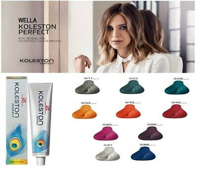 Wella Koleston Perfect Permanent Professional Hair Color Dye 60 ml - SPECIAL MIX
