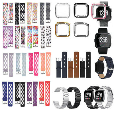 Replacement Band Sport Breathable Silicon Strap / Case Cover For Fitbit Versa