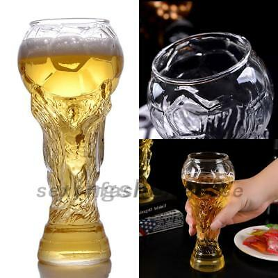 World Cup Hercules Crystal Glass Cup Beer Water Mug Barware 450ML With Box