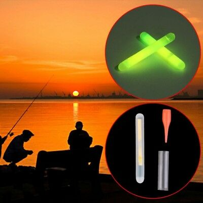 10X Fishing Glow Sticks Night Float Starlight Pole Coarse Chemical Lights Tackle