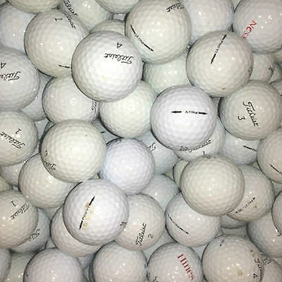 100 Very Good / Good Quality - Titleist Pro V1 - Golf Balls - Mixed Years