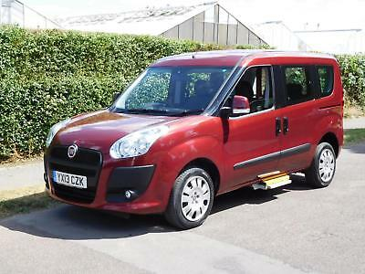 Fiat Doblo 1.4 16v MyLife WHEELCHAIR / MOBILITY SCOOTER CONVERSION