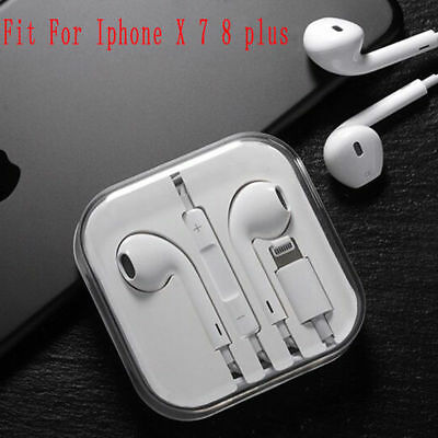 Wired Bluetooth Earbuds For Apple IPhone X 7 8 plus Headphone Headset In-ear