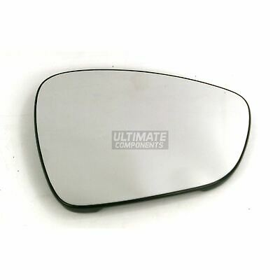 Citroen DS3 Hatchback 2009-8/2015 Heated Convex Wing Mirror Glass Drivers Side