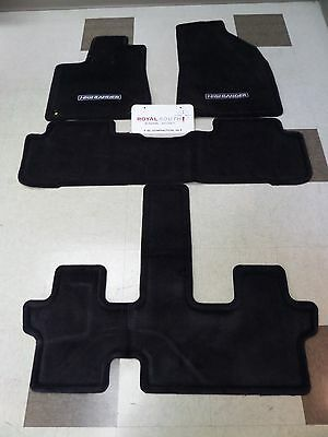Toyota Highlander 2014 - 2018 Carpet Floor Mats Set Genuine OEM (3rd Row/Heater)