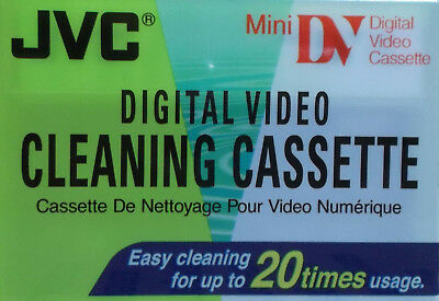 JVC cleaning cassette Mini DV Digital Video Cassette Reinigungskassette Neu&OVP