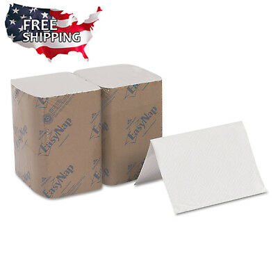 Dixie Ultra Interfold Napkin Refills Soft Absorbent 2-Ply Paper 500 Pack White