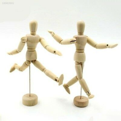 800AD72 Wooden Manikin Mannequin 12Joint Doll Polish Model Articulated Display