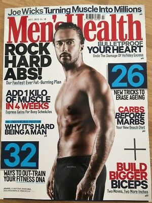 Men's Health Magazine July 2018 (Brand New / Unread)