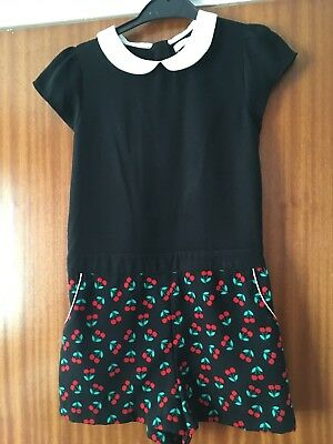 M&S Girls Playsuit Age 7-8