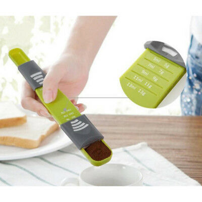 Hot Sale Adjustable Scale Measuring Spoons Cup Baking Tool Kitchen Accessories