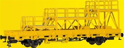 Kibri 26262 gauge H0, Low-Sided Wagon with Mounted Platform Track Construction,