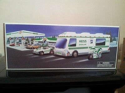 Hess* 1998* Toy* Recreation* Van* With Dune Buggy And Motorcycle  Mib*