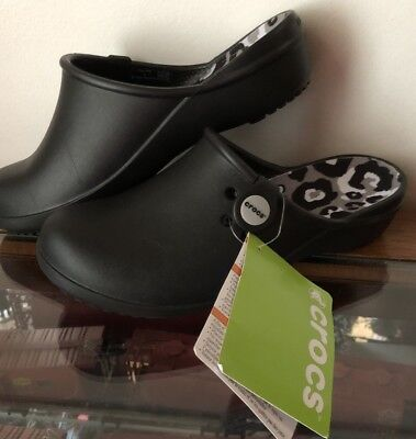 65bfade4b Crocs Women s Tully II Clog Slip-On Mules Shoes Black   Gray Relaxed Fit  Size
