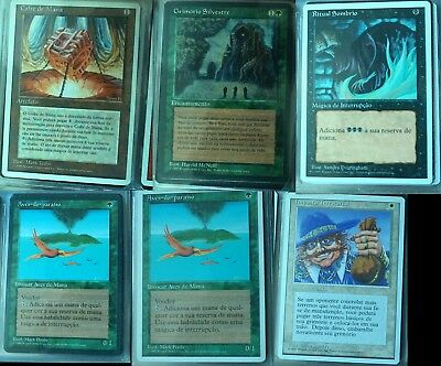 MTG 4th edition Private Collection - Sylvan Library (PT) / LandTax (PT) and more