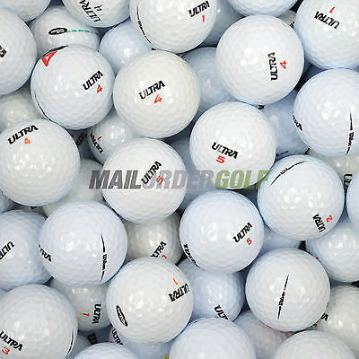 100 Wilson Ultra Mixed Model Lake Golf Balls Pearl / A *FREE UK DELIVERY*
