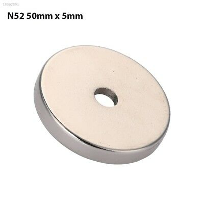 4145293 Practical Ring Magnets Neodymium Magnet Gadgets Home DIY 50*5mm Powerful