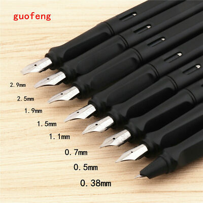 Jinhao 878 Nib 0.38/0.5/0.7/1.1/1.5/1.9/2.5/2.9mm Student office Fountain Pen