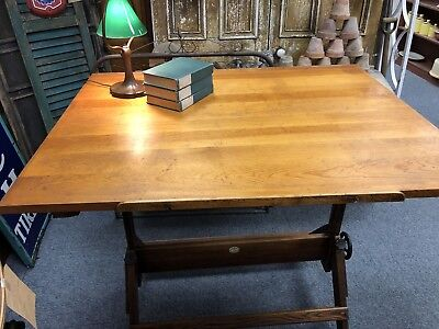 Antique Anco Bilt Drafting Table