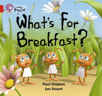 Big Cat Whats For Breakfast Re  (UK IMPORT)  BOOK NEW