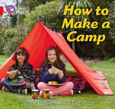 Big Cat - How To Make A Camp  (UK IMPORT)  BOOK NEW