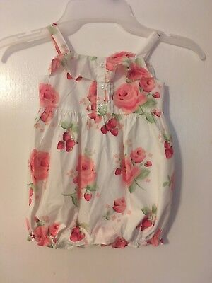 Janie And Jack Baby Girl Romper 6-12M
