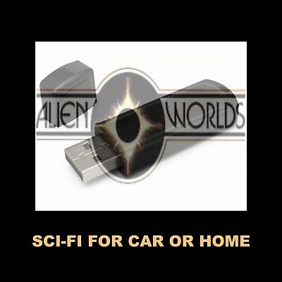 Like Sci-Fi? You'll Love Alien Worlds! Enjoy 13 Plus Hours In Your Car Or Home.