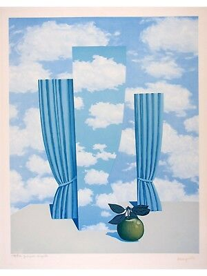Rene MAGRITTE s/n Lithograph Le Beau Monde - The Beautiful World 1979-80