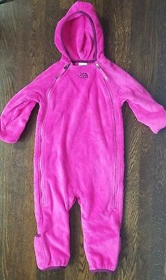 The North Face Infant Girl 12-18M Winter One Piece Jacket Suit