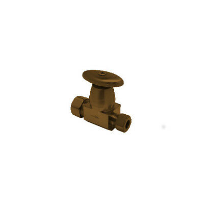 Mountain Plumbing MT6120/EB Comp Oval Handle Straight Valve–English Bronze