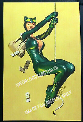 Brandon Peterson Catwoman Dcu Bad Girl Sdcc 2015 Art Print 11X17