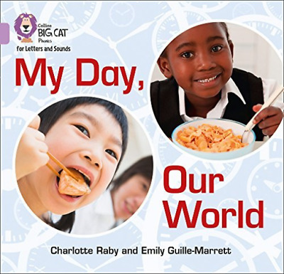 Big Cat Phonics - My Day Our W  (UK IMPORT)  BOOK NEW